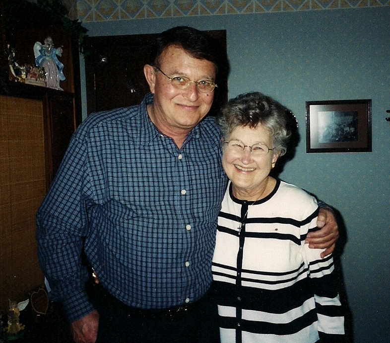 June and David April 2003