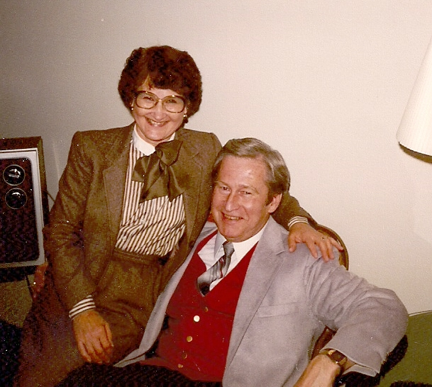 June and Stan on New Years Day 1981