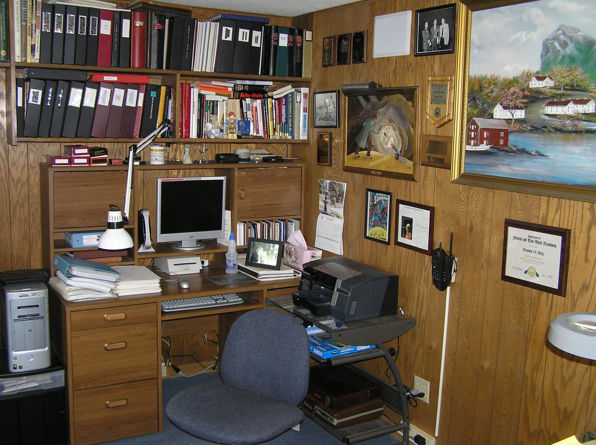 Stan's office