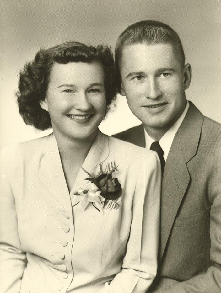 jUNE AND sTAN 1952