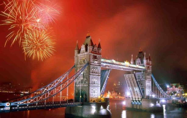 London New Years 2015