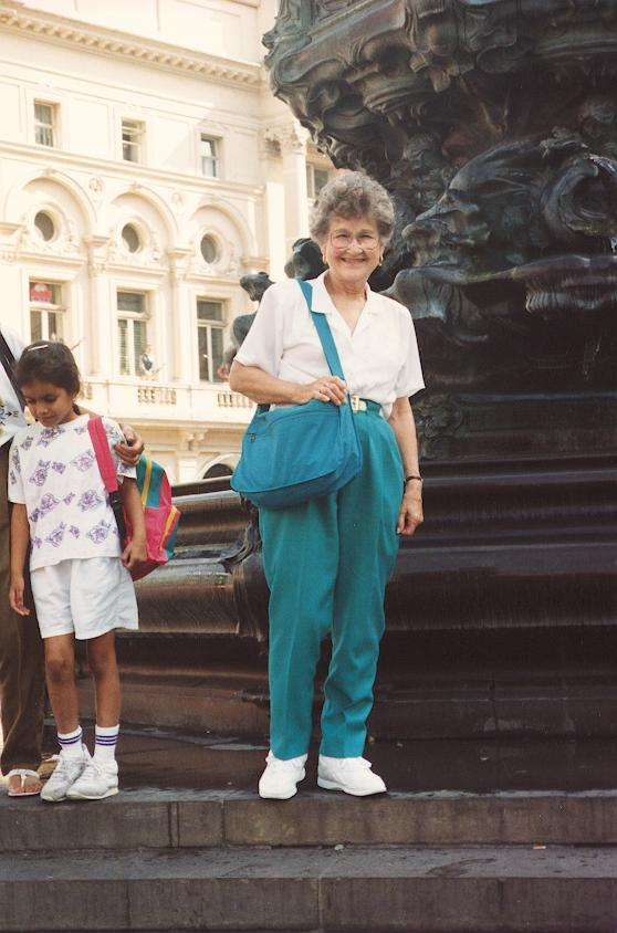 Grandma June London 1993