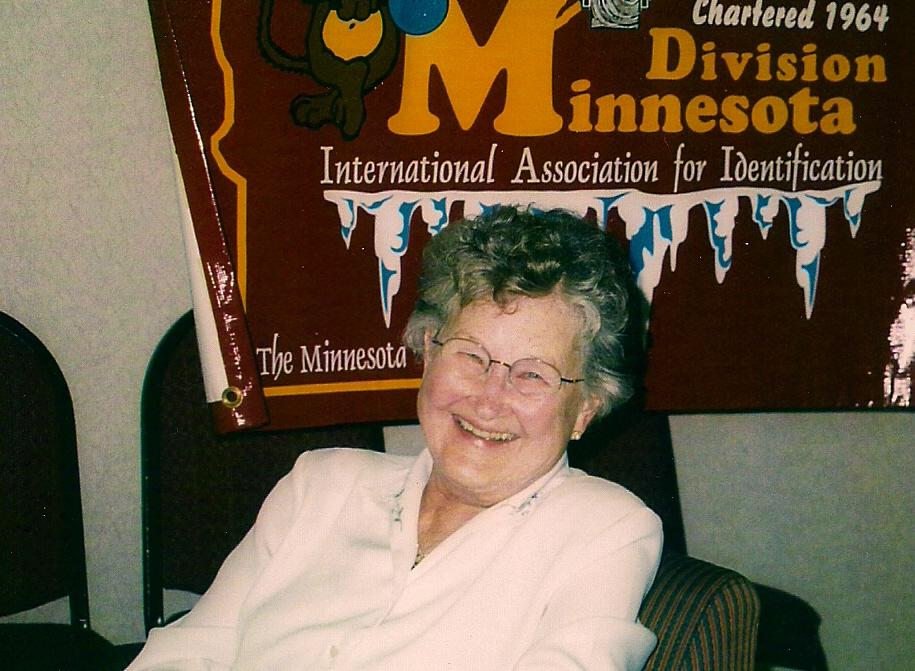 June Berg at MN Div IAI Conference 2004