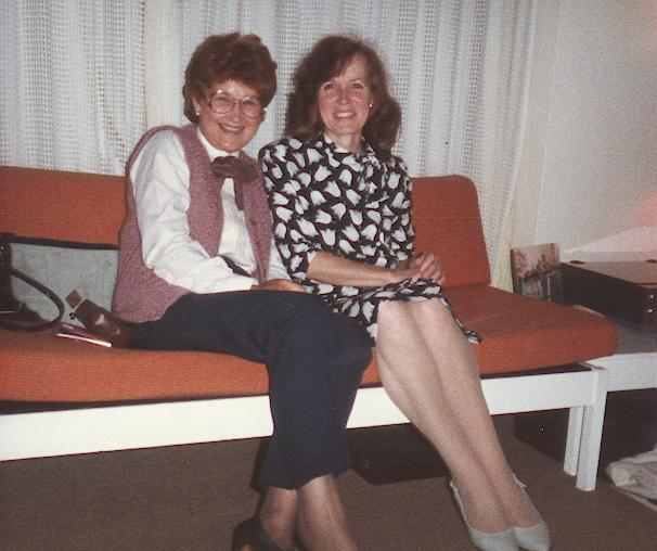 June and Joan Bruce 1984