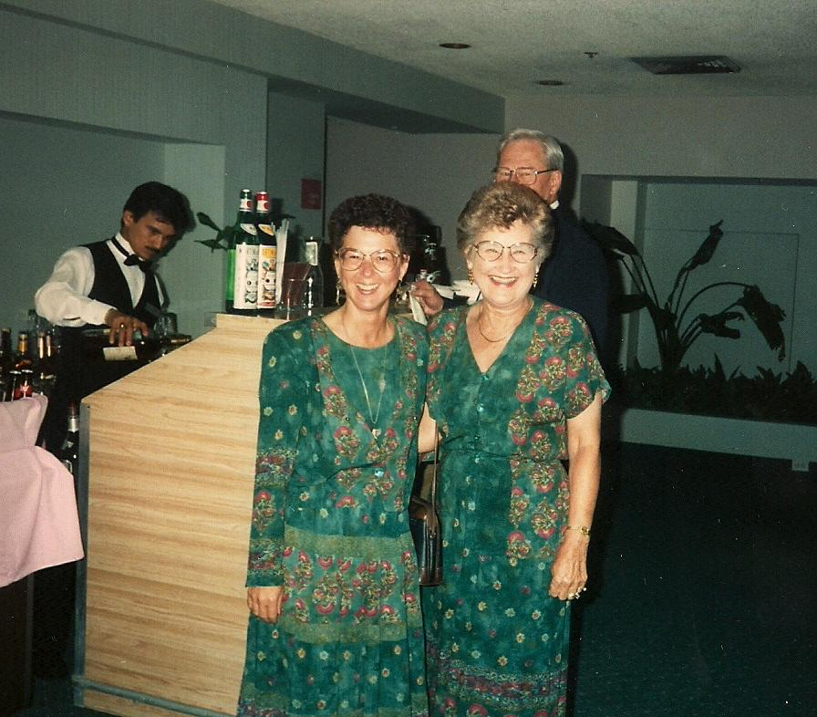 June and Linda Miami 1994