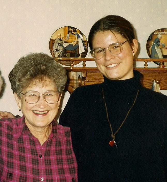 June Berg and Silvelyn Wrase 1993