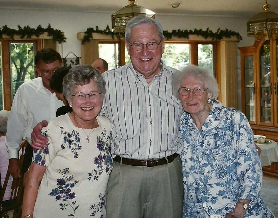 June, Stan, Ellen 50th Wedding Anniversary  2002