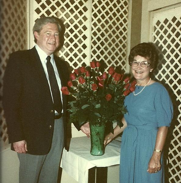 June and Stan Retirement 1984