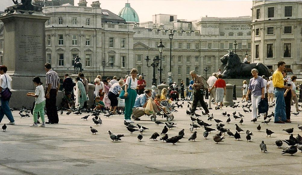 June at Trafalgar Square 1993