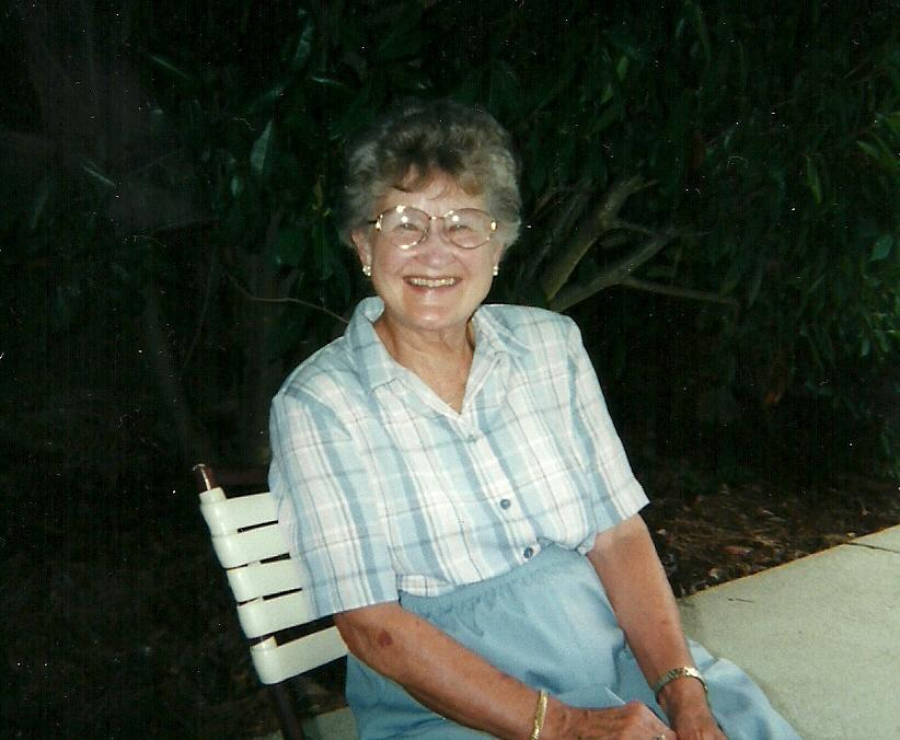 June Berg at Williamsburg, VA, July 1999