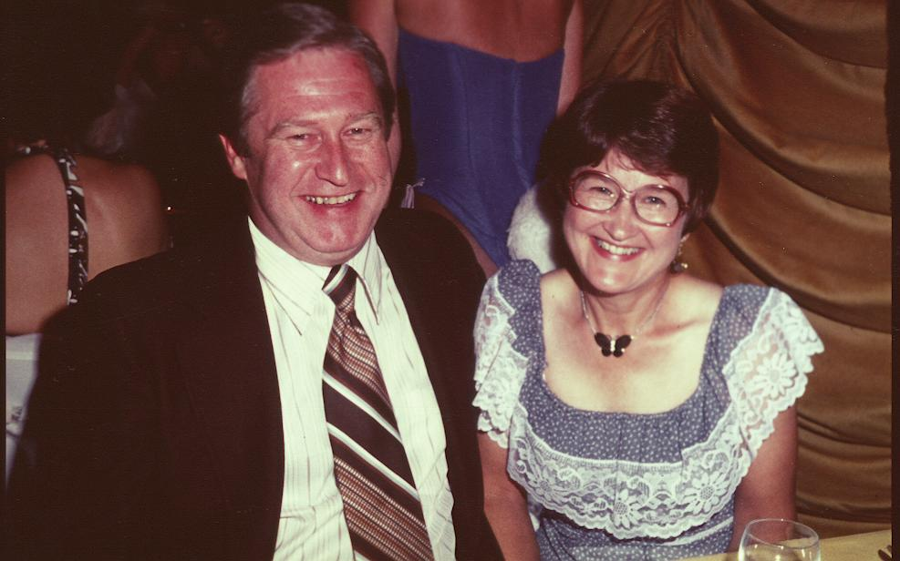June and Stan Lake Geneva 1977