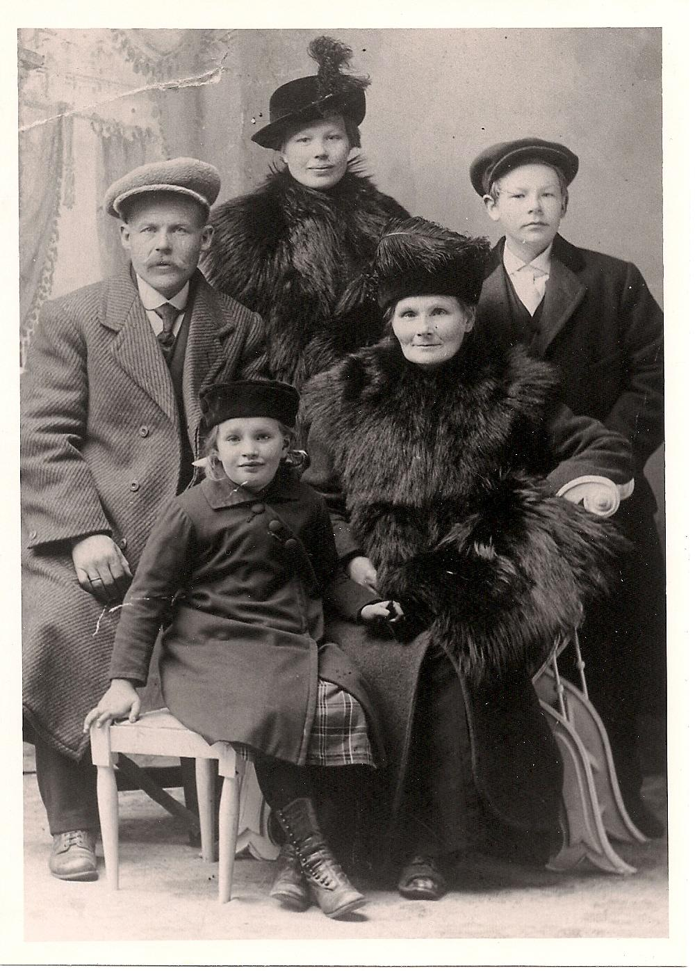 Varnes family in Norway