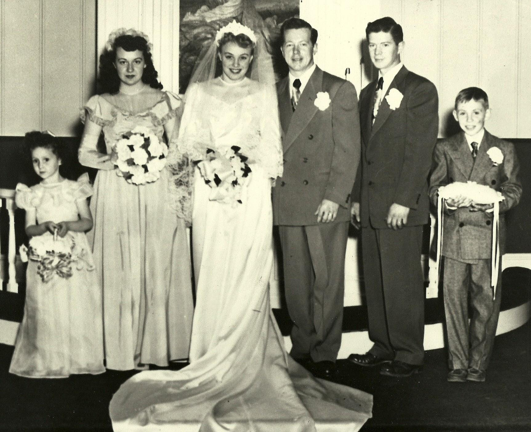 Vernon and Maries' wedding picture
